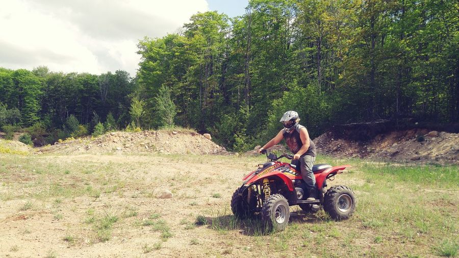 Upper Peninsula Michigan Four Wheeling EyeEm Funtimes Fun In The Sun Exciting Brother Feel The Journey