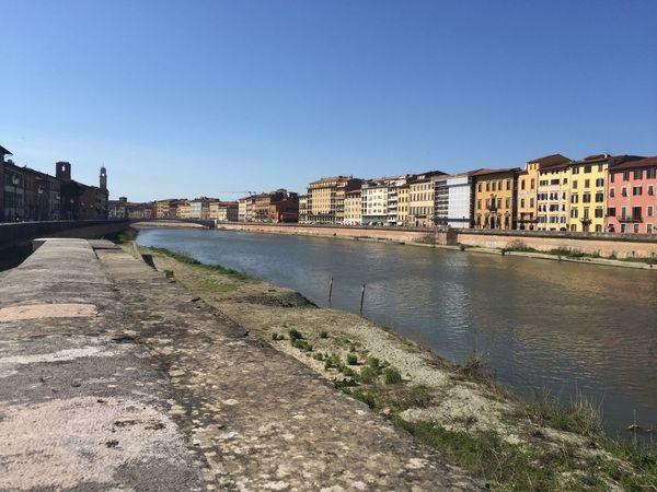 Spring Into Spring Pisa Lungarno Ponte Bridge