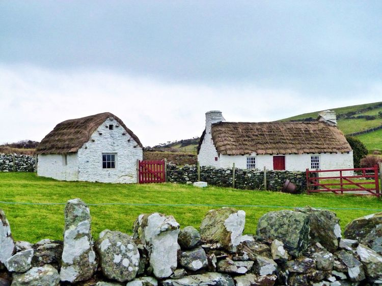 Cregneash Thatched Roof Cottage History