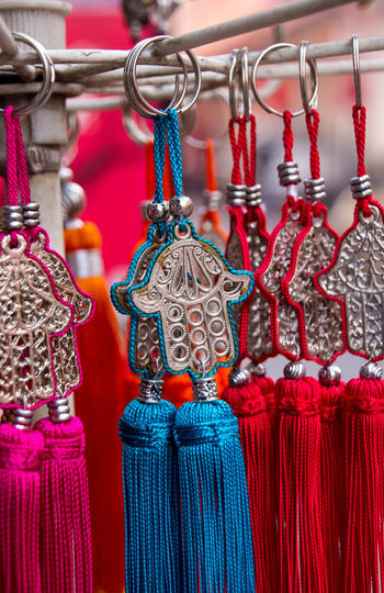 Arabic Arrangement Close-up Cultures Hand Of Fatima Handsome Jewelry Morocco Necklace Ornate Silver  Silver Jewelery