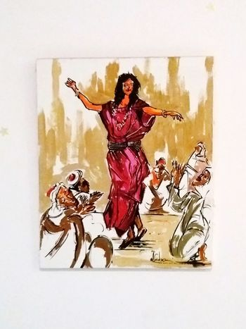 Painted Image MyRoom Art Dance Freewoman Tunisia Wall Colors
