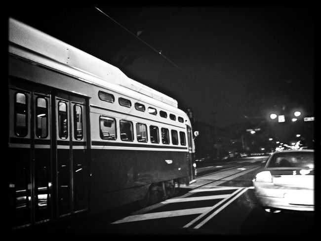 Septa Trolly Blackandwhite Streetphotography