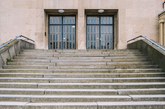 Berlin Tempelhof Airport Airport Architecture Berlin Berlin Tempelhof Airport Climbing Day Hand Rail No People Staircase Stairs Steps Steps And Staircases Tempelhof Tempelhof Airport Tempelhof Flughafen Window