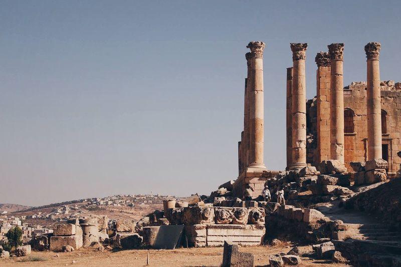 The ruins in Jerash😍 Somewhere In Downtown Amman😍 First Eyeem Photo Jordan Amman Traveling Wanderlust Travel Travel Photography Travel Destinations Love Travelgram