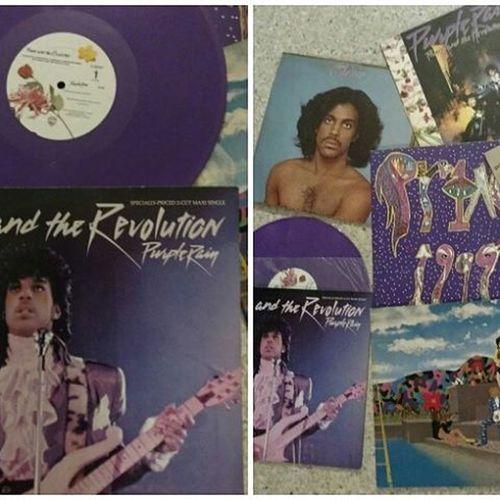 Prince  Vinylcollection Vinyl Ripprince Rip Purplerain Purple Theartist Paisleypark