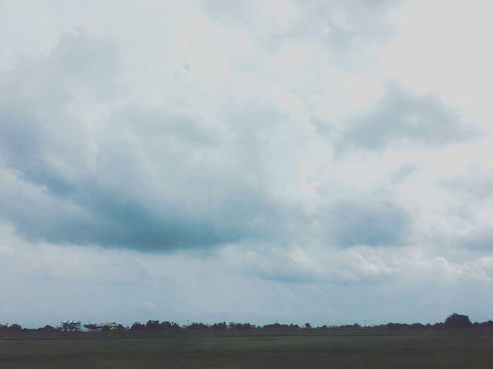 บ้านนาป่าดอย Sky Landscape Cloud - Sky Scenics Nature Field Tranquil Scene No People Tranquility Outdoors Beauty In Nature Day