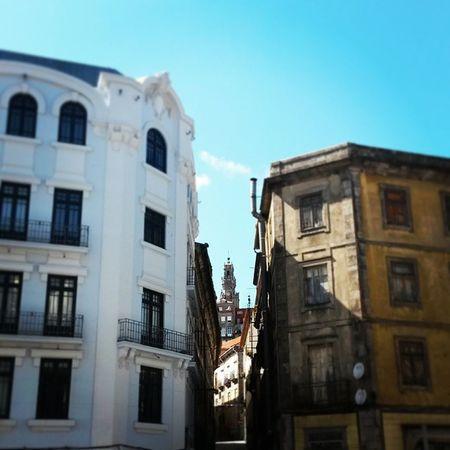 Porto Oporto Downtown Portugal Portugaligers Sightseeing Torredosclerigos Stroll View