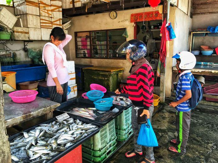 Fish stall @