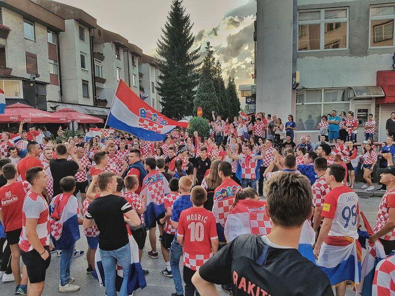 CROATIA 🇭🇷❤ The Street Photographer - 2018 EyeEm Awards Croatia City Love Politics And Government Crowd Men Protestor Togetherness Unity Women Politics Tree Thai Flag