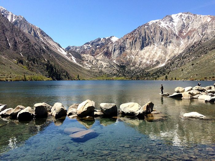 Summer days California Summertime Convict Lake Mammothlakes The Great Outdoors Lanscape Nature Photography Travel Photography Fishing Exploring Hiking