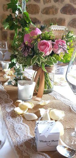 Wedding Photography Wedding Day Weddingtable Wedding Day Wedding Reception Drink Flower Drinking Glass Table Close-up