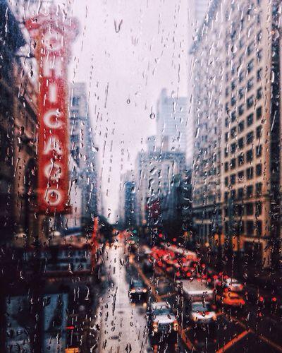 Eyeemphoto Chicago Rain Raindrops Architecture EyeEm Best Shots Aquarelle Abstract Abstractart