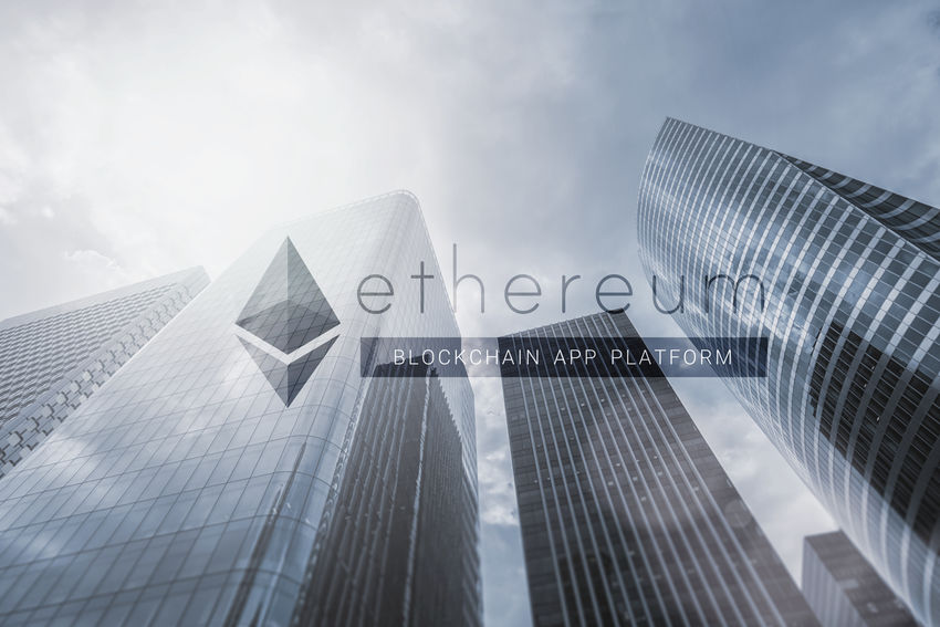 Ethereum (ETH) - cryptocurrency - concept image Anonymous Architecture Business Currency Market Peer-to-Peer Banking Bit-coin Bitcoin Blockchain Blockchain Technology Business District Business Finance And Industry Cryptocurrency Cryptography Digital Eth Ethereum Financial Investment Mining Savings Sky Skyscraper Speculation