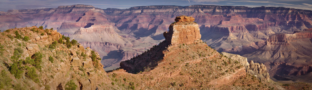 Arizona Grand Canyon Panorama Arid Climate Bluff Canyon Environment Eroded Geology Landscape Mountain Mountain Range Physical Geography Rock Formation Scenics - Nature Travel Travel Destinations My Best Travel Photo
