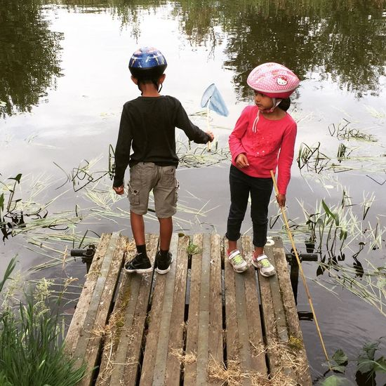 Adam Miah Amelia Miah Fishing