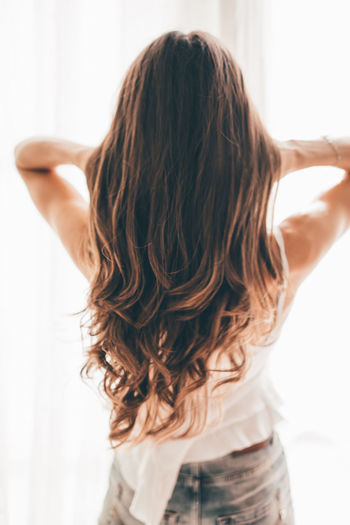 Gorgeous hair from behind
