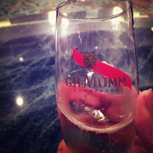 Cheers? Enjoying Life Champagne Gh Muum Gala Dinner