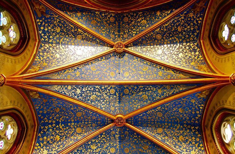 Hohenzollern  Burg Burg Hohenzollern Kapelle Deckenmalerei Decken Impressionen