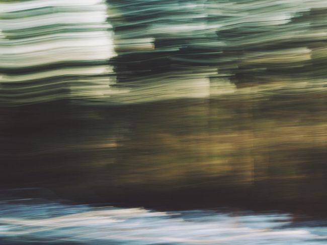 Textured  WoodLand Abstract Backgrounds Beauty In Nature Blurred Motion Close-up Day Full Frame Motion Nature No People Outdoors Reflection Rippled Scenics Sea Texture Water Waterfront Wood - Material