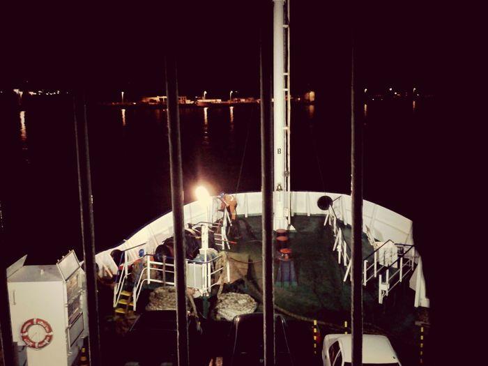 Autos en el mar... Ferri Night
