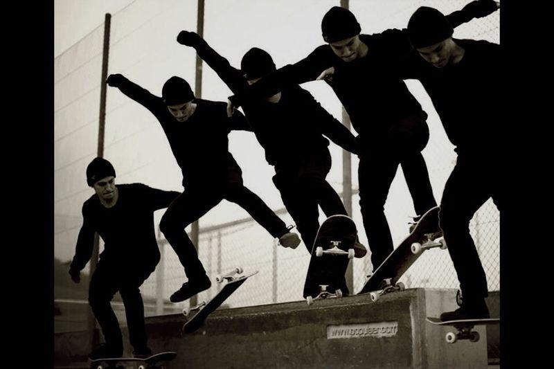 ExSport Skateboarding Blackandwhite Insane rider ives michel photo ivo schmidig spot skatepark wintersried schwyz switzerland