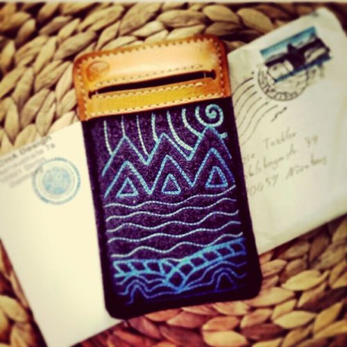 Picture from a happy customer :) Wearefairphone Kancha Smartphone Sleeve
