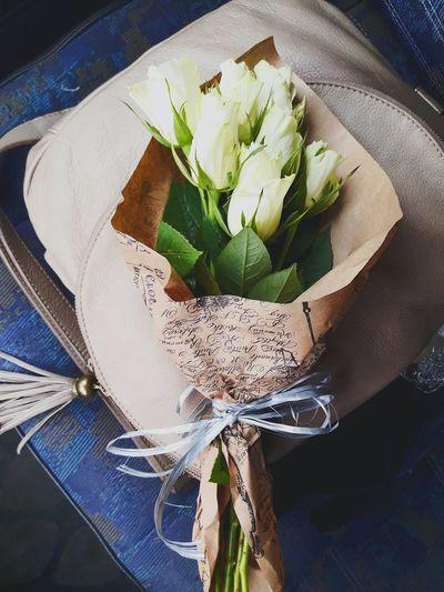 Букет роз Bag
