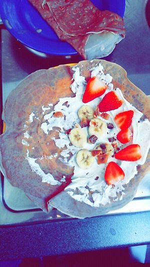 Schokocrêpe Bananen Erdbeeren Toffifees Sooolecker♥