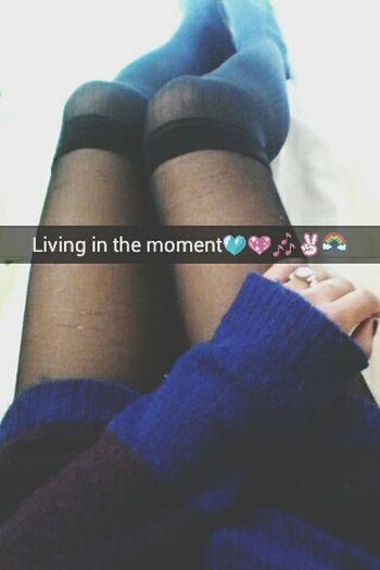 Snapchat: linnethrivas Taking Photos Relaxing That's Me Snapchat Snapshot First Eyeem Photo Legs Sweater Grungegirl Home Sweet Home