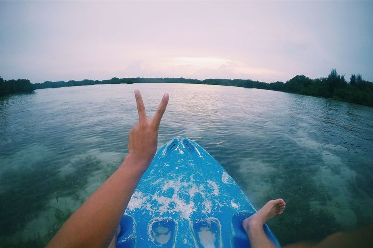 Peace✌ Canoe Save The Mangrove Forest