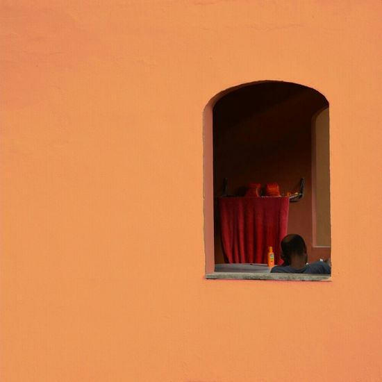 La ventana indiscreta, Rear window Eye4thestreets EE_Daily: Orange Tuesday Orange