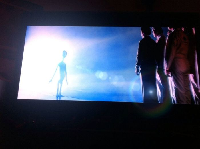 'Close Encounters' (on my tv)