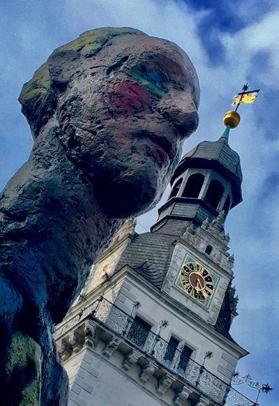 Statue Art Wolfenbüttel School Architecture GERMANY🇩🇪DEUTSCHERLAND@ Germanarchitecture Oldclock Clocktower Beautiful Photography