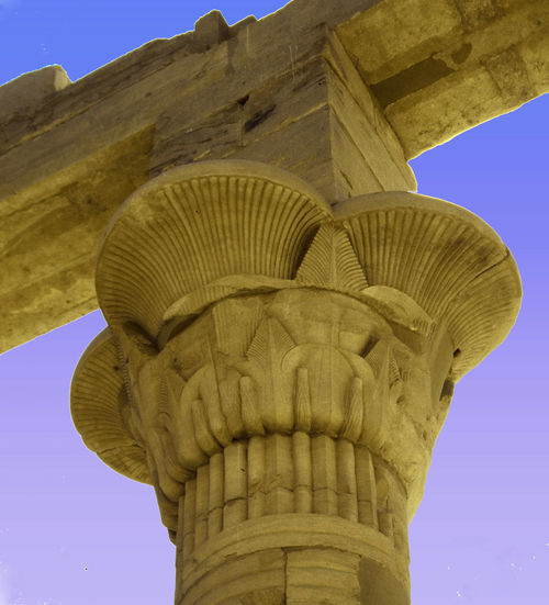 Travel Destinations Statue Sky Sculpture Outdoors No People Nature Mountain Low Angle View History Egyptian Temple Day Clear Sky Built Structure Architecture Architectural Column Ancient Civilization Ancient Egypt A Taste Of Egypt