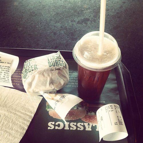 Mcd Loveburger Icetea Creditcard breakfastinstalike