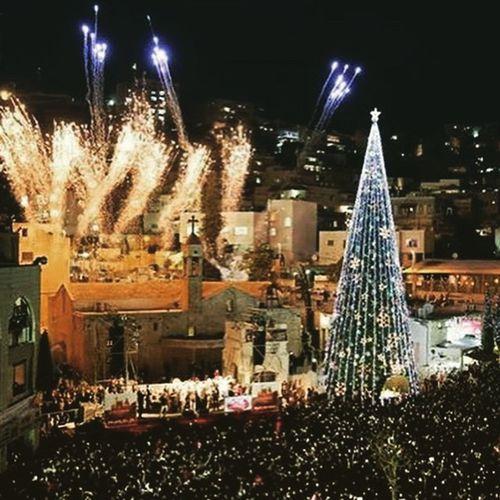 Nazareth Christmas Market Xmas Merry Holy Holyland Peace Love Fireworks
