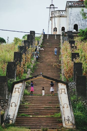 To The God Stairs