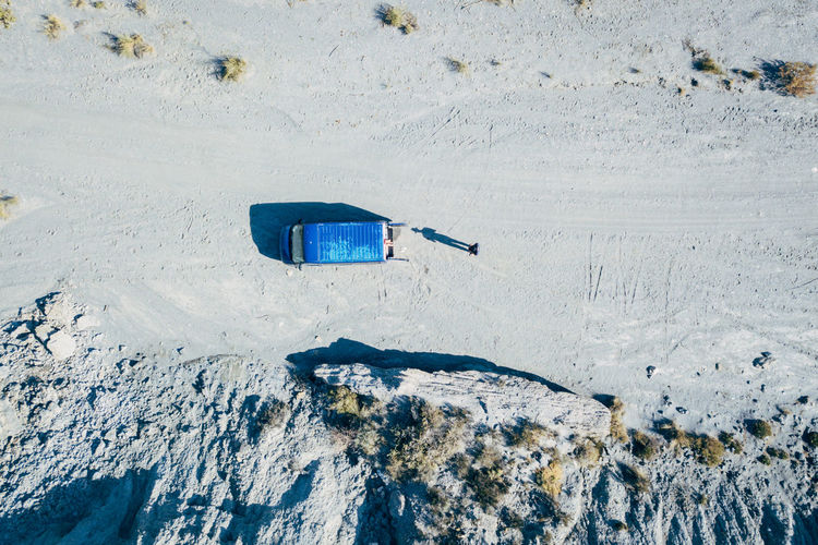 DJI X Eyeem Desert Wild West Aerial View Beauty In Nature Close-up Cold Temperature Day Desert Landscape Mountain Nature No People Outdoors Sand Snow Tabernas Desert Western Winter