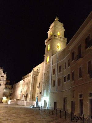 Visiting Architecture Travel Destinations History City Tourism Cattedrale Gravinainpuglia Vacanza Government Architecture Night Travel Destinations History City Building Exterior Politics And Government Tourism Illuminated Outdoors Sky King - Royal Person People Clock EyeEmNewHere