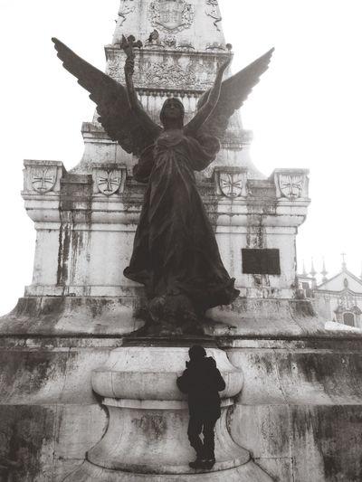 Oporto Statue Blackandwhite Adapted To The City Thecitylight The Street Photographer - 2017 EyeEm Awards