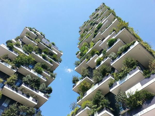 Adapted To The City City Apartment Architecture Sky Outdoors Day No People Business Finance And Industry Milan Italy Nature Milanoportanuova Milano Design