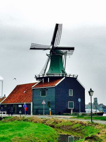The Windmill Zaanse Schans Autumn Collection Oct2015 For My Own Photo Journal Travel Photography Nature Live, Love, Laugh Aroundtheworld Countryside Relaxing