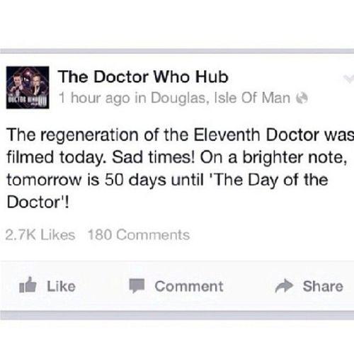 :( Doctorwho Theeleventhdoctor Mattsmith  Petercapaldi bbc sad