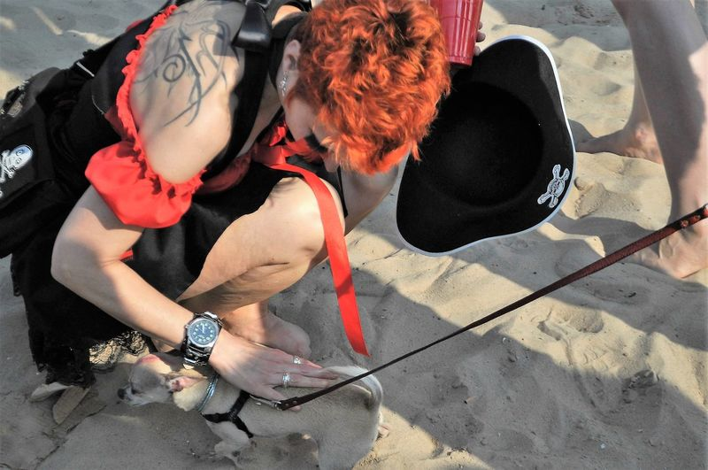 Perro Pequeño Arena Arena De La Playa Beach Sand Cabello Rojo Casual Clothing Chihuahua Chihuahua Love ♥ Chihuahualovers Close-up Day Lady Petting Dog Leisure Activity Lifestyles Little Dog Mujer Outdoors Part Of Person Red Red Hair Woman