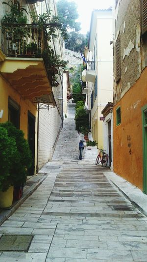 Street Photography Having A Great Time Taking Photos Stairs in the beautiful city of Nafplion Greece!!!