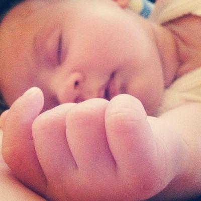 Babygirl 5weeksold  Sleepybaby