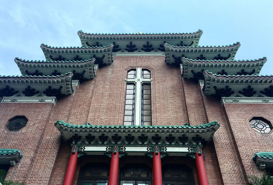 Hello World Hello Hong Kong HongKong Architecture Low Angle View Built Structure No People Hello Asia Hello China Outdoors Details Taking Pictures Click Click 📷📷📷 Real Life Enjoying Life My Point Of View Looking Up Sky Asian Architecture China