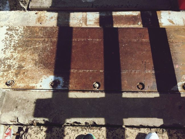 Bridge Shadow Close-up