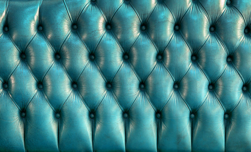 Teal leather texture of vintage sofa - retro background 60s 70s Blue Color Green Color Leather Textured  Abstract Background Backgrounds Design No People Old Pattern Retro Styled Sofa Style Textured  Textured Effect Vintage Wallpaper