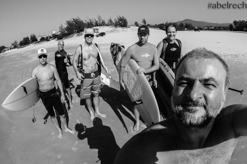 Surfing Friendship People